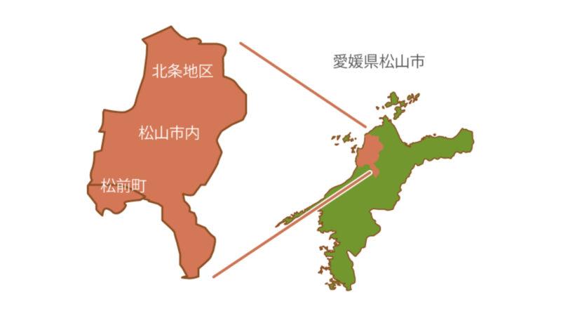 四国医療サービス株式会社・シンセイフード事業部・配送エリア