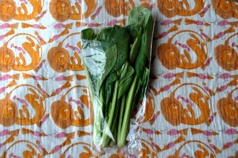 ビオ・マルシェの小松菜