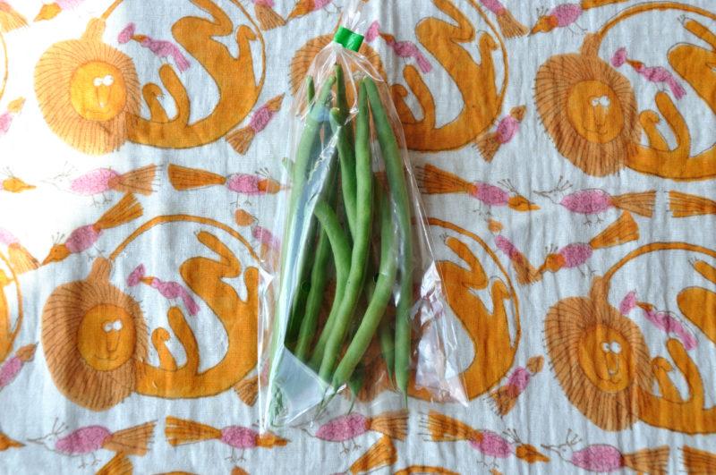 ビオ・マルシェのインゲン豆