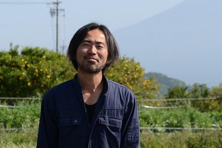 富士山麓野菜ホームページより オトワファームの農場長の写真