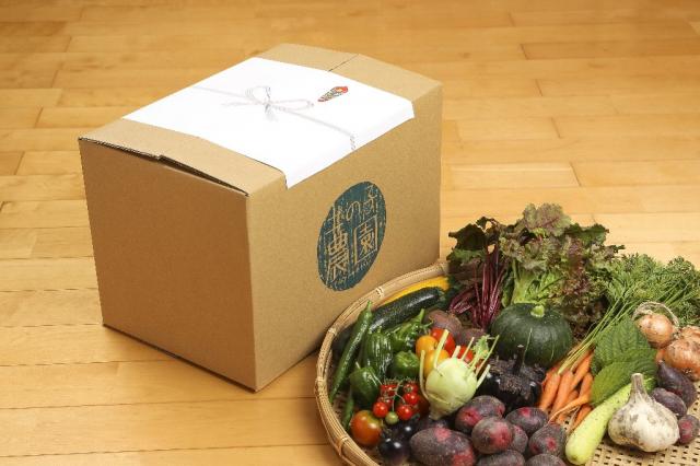 つちのこマルシェホームページより 野菜セットの画像