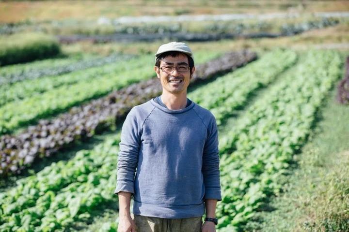 畑山農場ホームページより 農園主の畑山さん