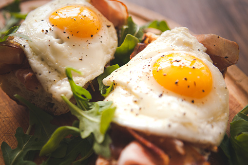 卵・ハムサラダ