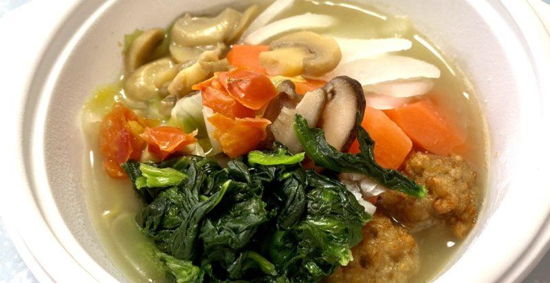 ウェルネスダイニング・キノコのスープ