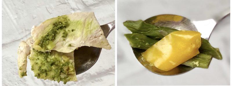 ダイエットミール300C・ダール(ジェノバ風) ×ダイエット( 蒸し鶏)