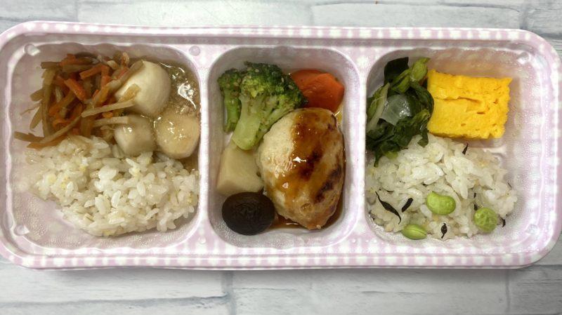 鶏つくねと野菜の炊き合わせ